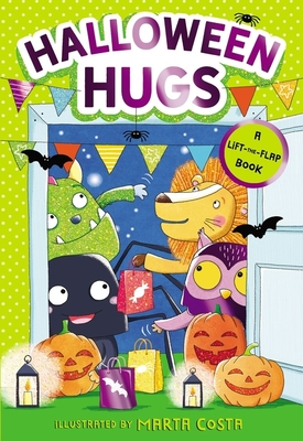 Halloween Hugs: A Lift-The-Flap Book Cover Image