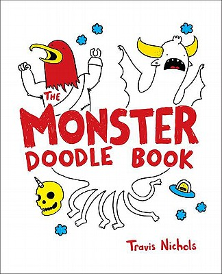The Monster Doodle Book Cover