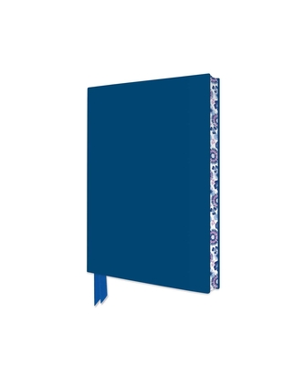Mid Blue Artisan Pocket Journal (Flame Tree Journals) (Artisan Pocket Journals) Cover Image