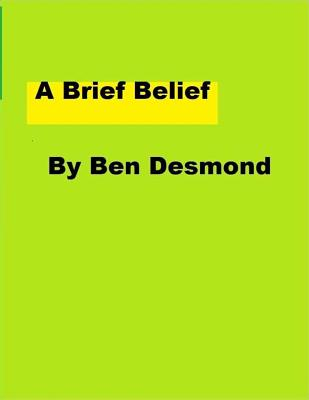A Brief Belief Cover Image