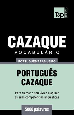 Vocabulário Português Brasileiro-Cazaque - 5000 palavras Cover Image