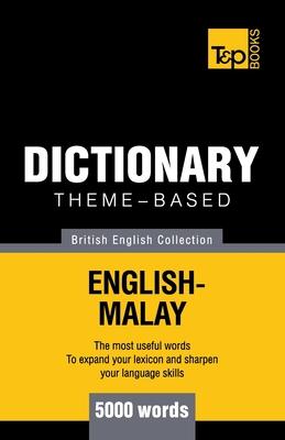 Theme-based dictionary British English-Malay - 5000 words Cover Image