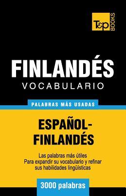 Vocabulario español-finlandés - 3000 palabras más usadas Cover Image