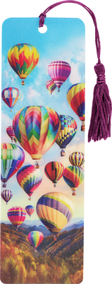 Hot Air Ballons 3-D Bookmark Cover Image