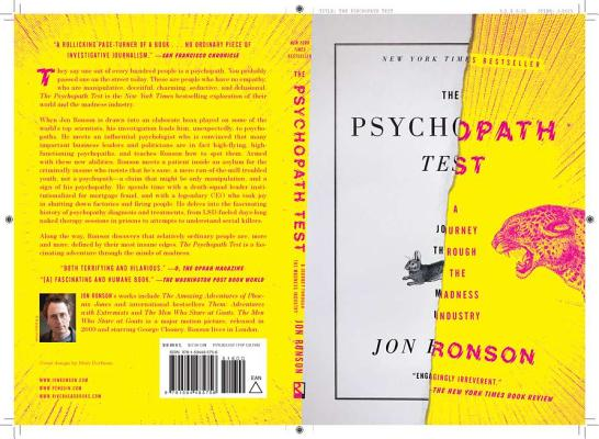 The Psychopath Test: A Journey Through the Madness IndustryJon Ronson