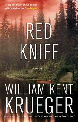Red Knife Cover
