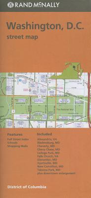 Folded Map Washington Streets DC Cover Image