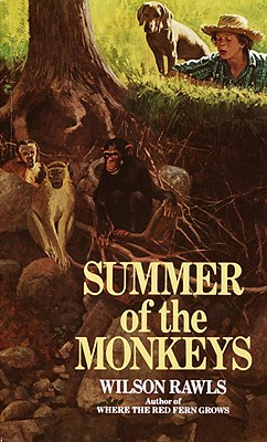 Summer of the Monkeys Cover Image