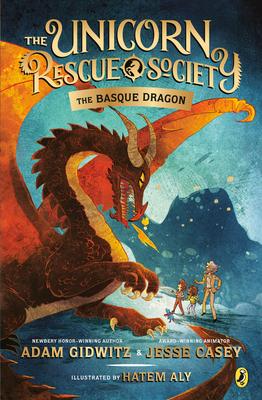 The Basque Dragon (The Unicorn Rescue Society #2) Cover Image