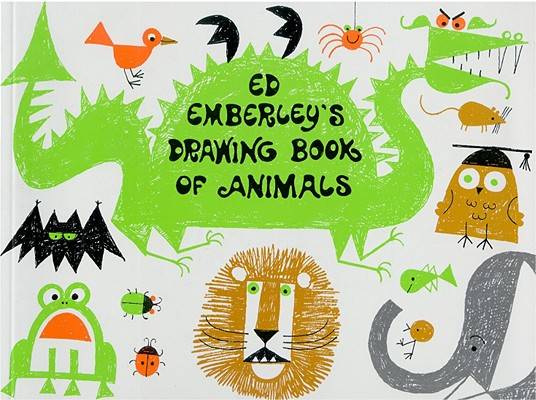 Ed Emberley's Drawing Book of Animals Cover Image