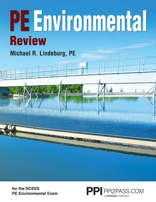 PPI PE Environmental Review – A Complete Review Guide for the PE Environmental Exam Cover Image
