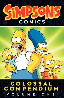 Simpsons Comics Colossal Compendium Volume 1 Cover Image
