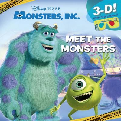 Meet the Monsters (Disney/Pixar Monsters Inc.) Cover