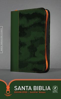 Santa Biblia Ntv, Edición Zíper, Bosque Cover Image