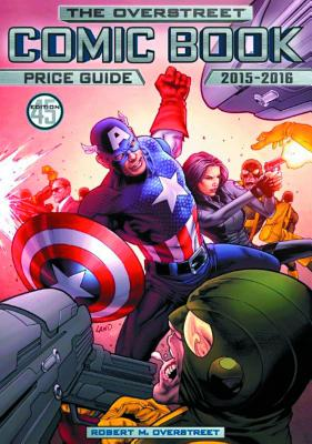 Overstreet Comic Book Price Guide Volume 45 Cover Image
