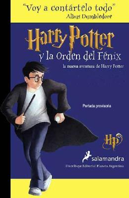 Harry Potter y La Orden del Fenix Cover Image