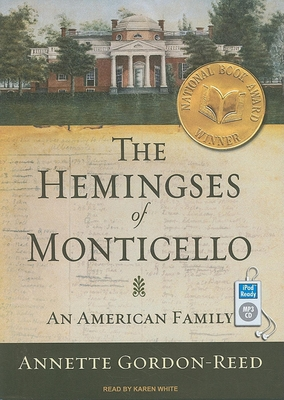 The Hemingses of Monticello Cover