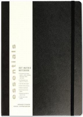Essentials A4 Dot Matrix Notebook Cover Image
