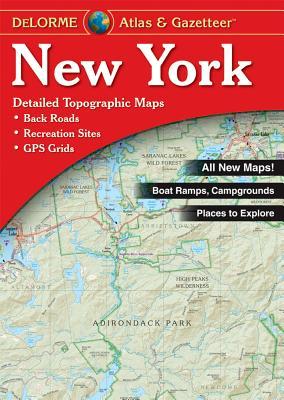 New York State Atlas & Gazetteer Cover Image