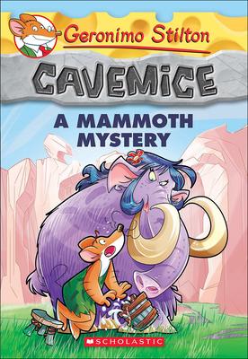 Mammoth Mystery (Geronimo Stilton Cavemice #15) Cover Image