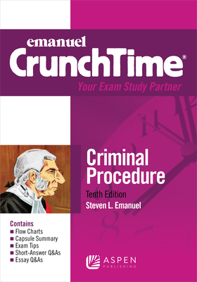 Emanuel Crunchtime for Criminal Procedure Cover Image