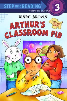 Arthur's Classroom Fib [With Stickers] Cover