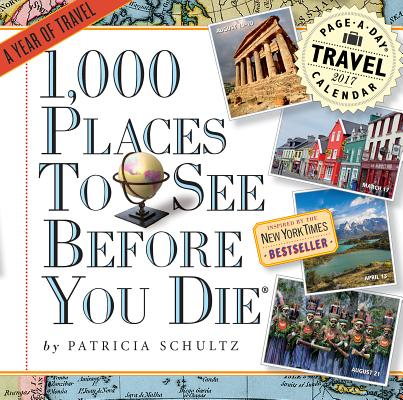 1,000 Places to See Before You Die Page-A-Day Calendar 2017 Cover Image