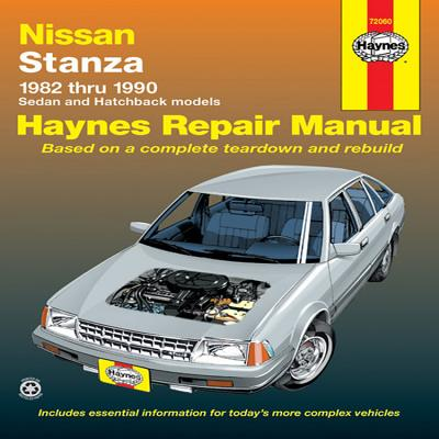 Datsun, Nissan Stanza, 1982-1990 (Haynes Manuals) Cover Image
