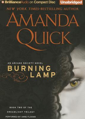 Cover for Burning Lamp (Dreamlight Trilogy #2)