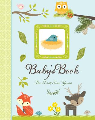 Woodland Friends Baby's Book: The First Five Years Cover Image