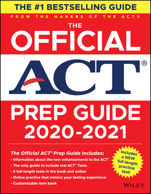 The Official ACT Prep Guide 2020 - 2021 Cover Image