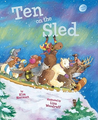 Ten on the Sled Cover