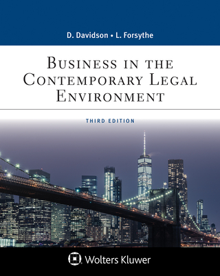 Business in the Contemporary Legal Environment (Business Law) Cover Image