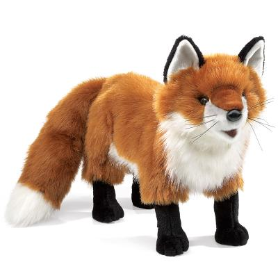 Red Fox Puppet Cover Image