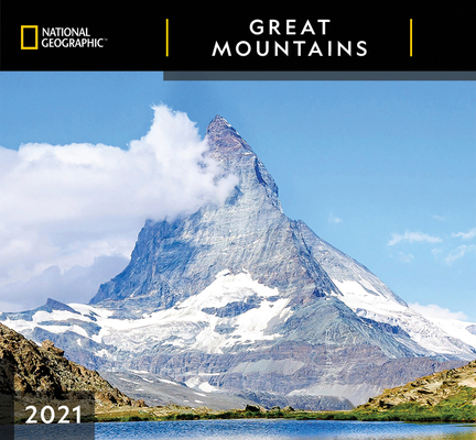 Cal 2021- National Geographic Great Mountains Wall Cover Image