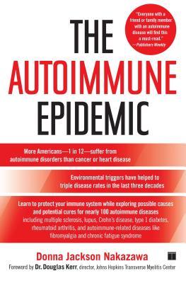 The Autoimmune Epidemic Cover