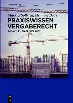 Praxiswissen Vergaberecht Cover Image