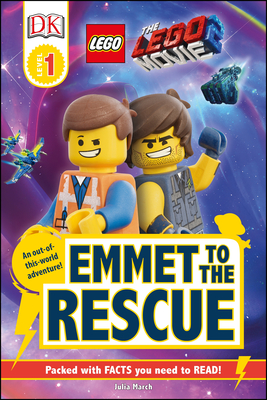 Cover for THE LEGO® MOVIE 2  Emmet to the Rescue (DK Readers Level 1)