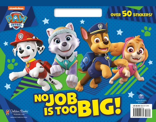 No Job Is Too Big! (PAW Patrol) Cover Image