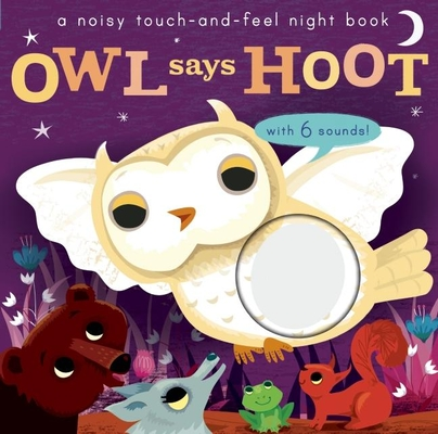 Noisy Touch and Feel: Owl Says Hoot Cover Image