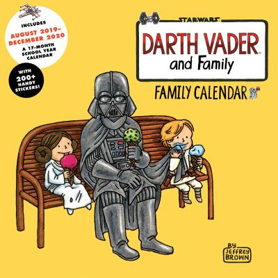 Darth Vader and Family 2020 Family Wall Calendar Cover Image