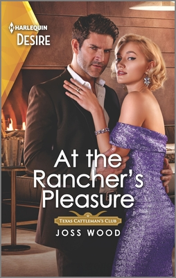 At the Rancher's Pleasure: An Older Woman Younger Man Western Romance Cover Image