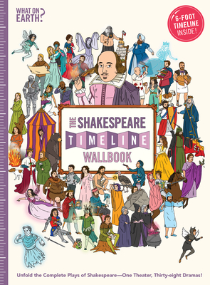 The Shakespeare Timeline Wallbook: Unfold the Complete Plays of Shakespeare--One Theater, Thirty-Eight Dramas! Cover Image