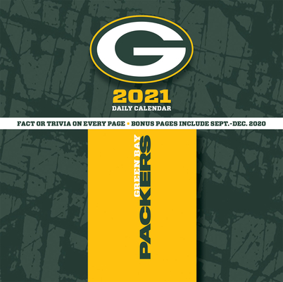 Green Bay Packers 2021 Box Calendar Cover Image
