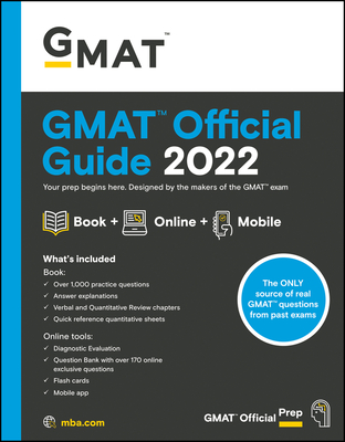 Cover for GMAT Official Guide 2022