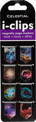 Celestial I-Clips Magnetic Page Markers (Set of 8 Magnetic Bookmarks) Cover Image