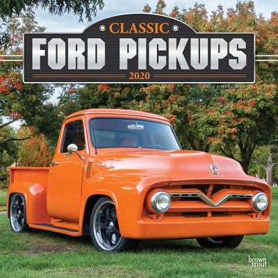 Classic Ford Pickups 2020 Square Foil Cover Image