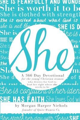 She: 366 Day Devotional: For Young Christian Women Cover Image