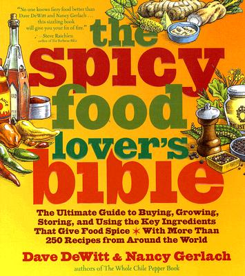 The Spicy Food Lover's Bible Cover