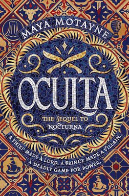 Oculta (Nocturna #2) Cover Image